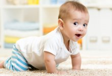 Baby crawling on carpet - Gillespie Approach–Craniosacral Fascial Therapy