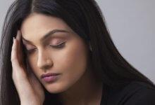 Headache therapy - Indian woman headache - Gillespie Approach–Craniosacral Fascial Therapy