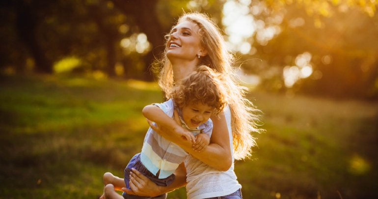 Brain trauma healing story - mother playing with son - Gillespie Approach–Craniosacral Fascial Therapy