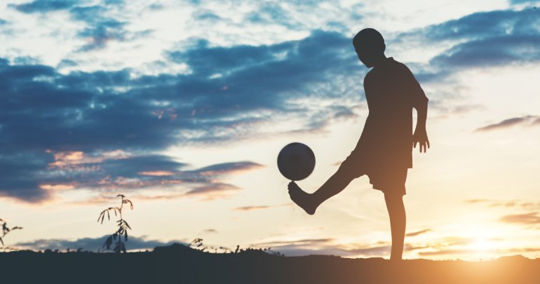 Pediatric asthma - boy playing soccer - Gillespie Approach–Craniosacral Fascial Therapy