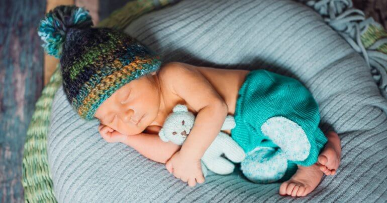 Latent newborn strain - baby sleeping - Gillespie Approach–Craniosacral Fascial Therapy