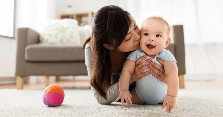 Newborn stress of motherhood - mother with baby - Gillespie Approach–Craniosacral Fascial Therapy