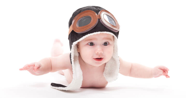 Arching baby revisited - baby pretend flying - Gillespie Approach–Craniosacral Fascial Therapy