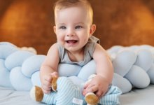 Fascial web rules all - smiling baby - Gillespie Approach–Craniosacral Fascial Therapy
