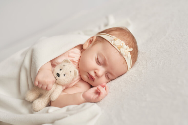 What is Craniosacral Fascial Therapy - baby sleeping - Gillespie Approach–Craniosacral Fascial Therapy