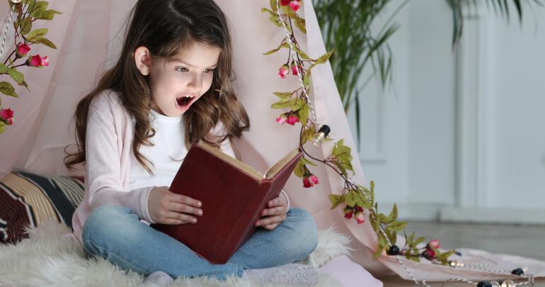 Girl reading book - Gillespie Approach–Craniosacral Fascial Therapy