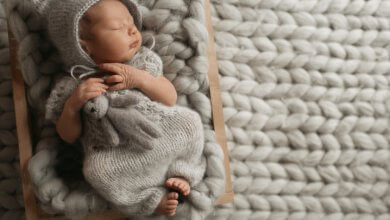 Common good - baby sleeping on blanket - Gillespie Approach–Craniosacral Fascial Therapy
