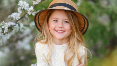 Gillespie Approach child headaches - girl wearing hat - Gillespie Approach–Craniosacral Fascial Therapy