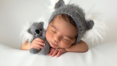 Infant practice management - sleeping infant - Gillespie Approach–Craniosacral Fascial Therapy